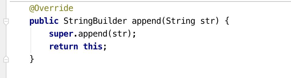 StringBuilder.append(String str)